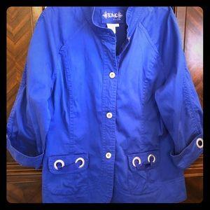 Royal Blue Lightweight Jacket